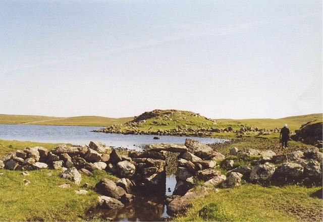 Loch of Houlland, Esha Ness, North Mainland