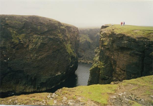 Calder's Geo, Esha Ness, North Mainland