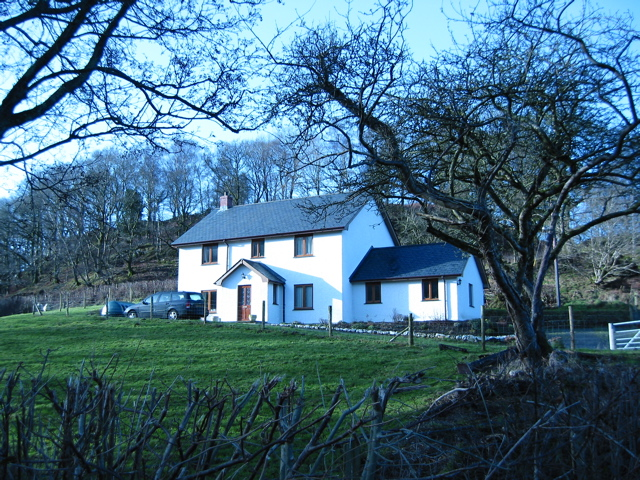 Ynyseidiol. The new farmhouse.