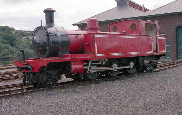 Outside the Foyle Valley Railway Museum, Londonderry