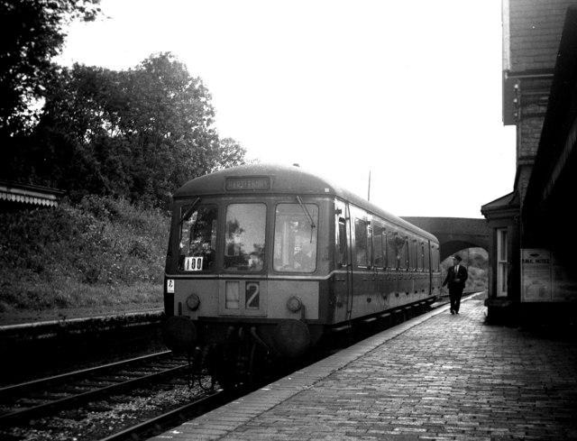 Coalport West railway station, Shropshire