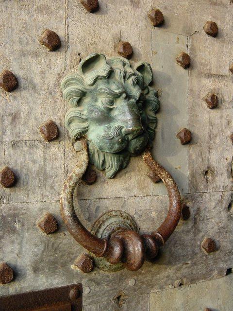 Door knocker, Leeds Castle