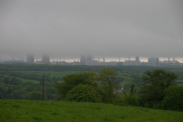 Cloud over Sellafield (non radioactive)