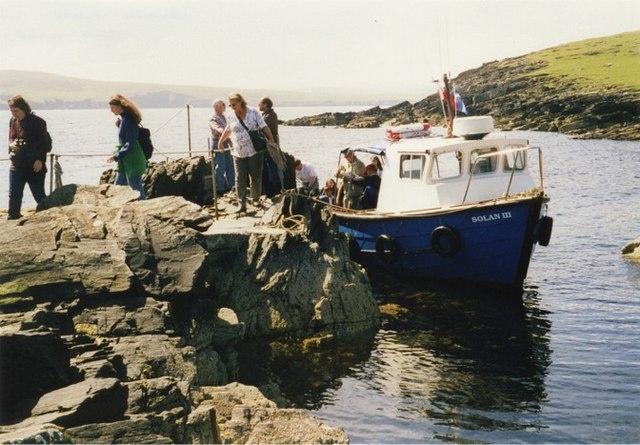 Landing point, Mousa