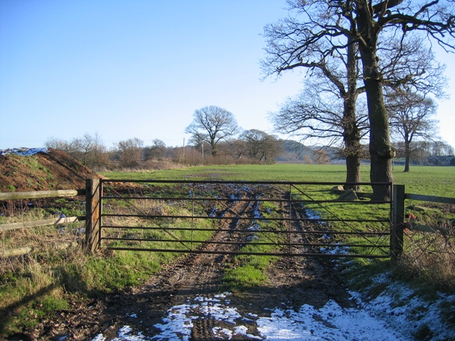 Farmland Gate off Dark Lane