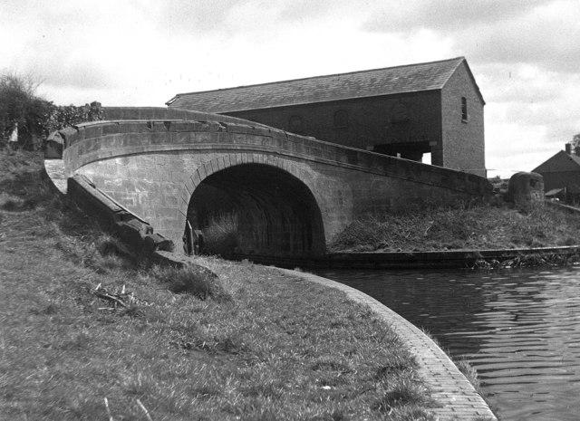 Wappenshall Junction, Shrewsbury Canal