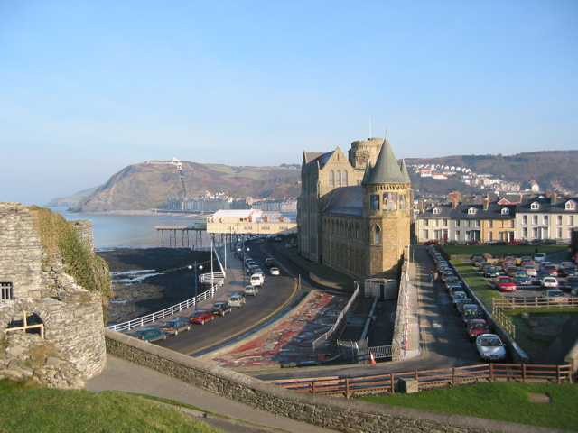 Aberystwyth, from the castle
