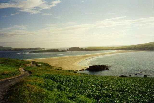 Tombolo and St.Ninian's Isle