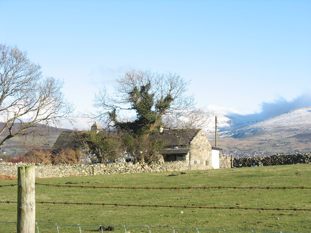 Pen-y-lan, Lon Groes - a smallholding