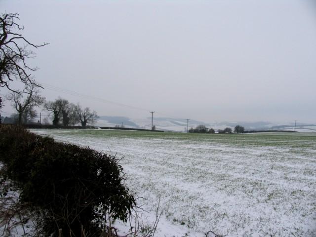 Field near to Stoke Dry