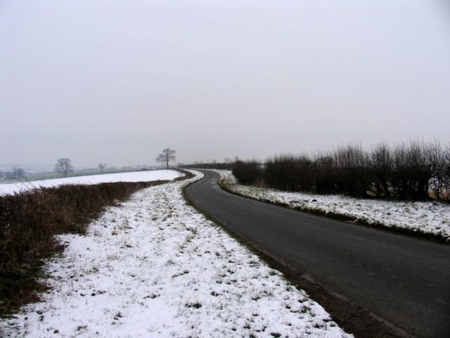 Seaton Road looking eastwards