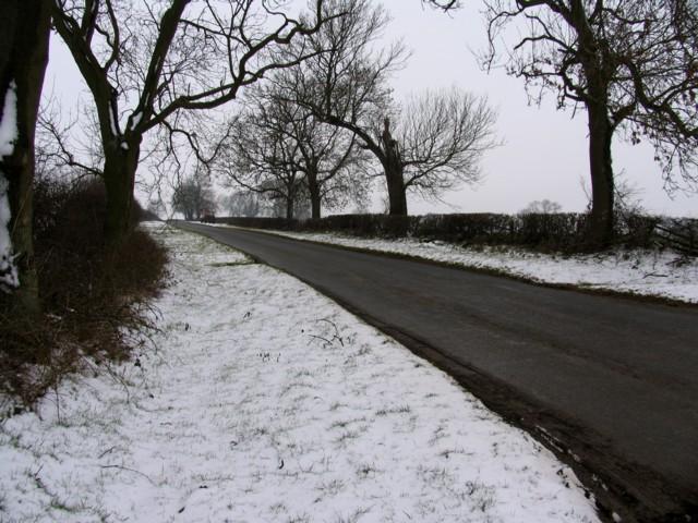 Seaton Road looking westwards