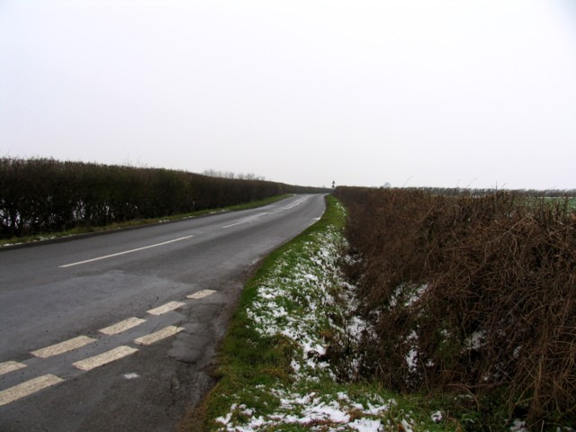 B672 towards Caldecott