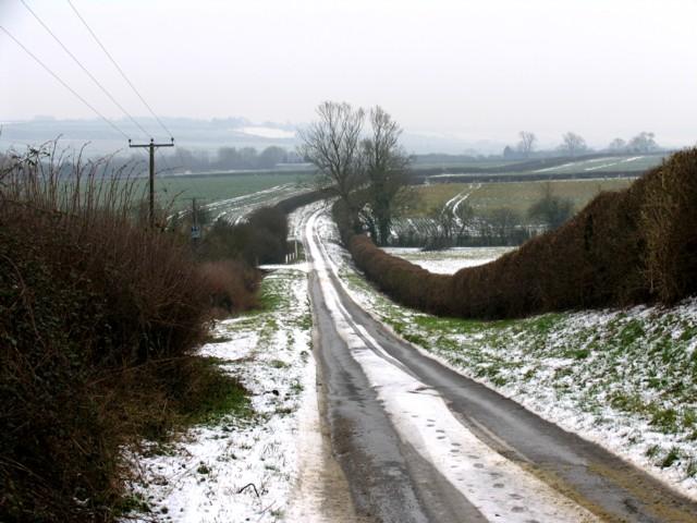 Moles Lane looking south