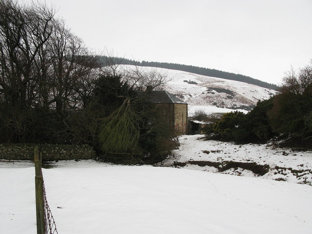 Stottencleugh Farmhouse, near Oldhamstocks