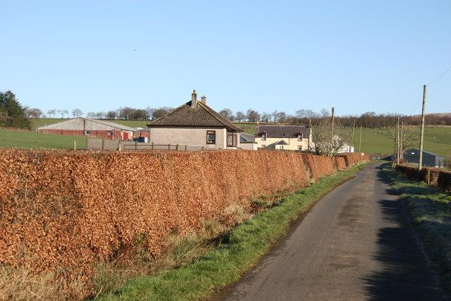 Blairmulloch Farm and bungalow