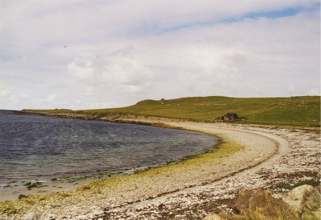 Shingle beach at Westing, Unst