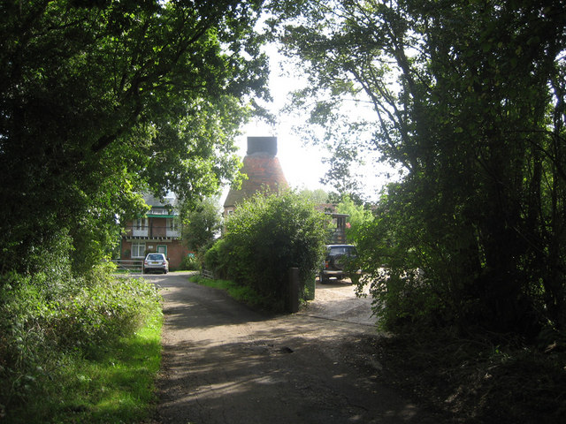 Lydd Farm Oast, Sychem Lane, Five Oak Green, Kent
