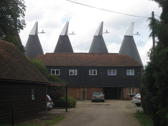 Ploggs Hall Oast, Whetsted Road, near Five Oak Green, Kent