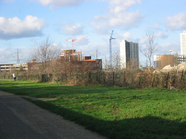 View to Stratford New City, January 2007