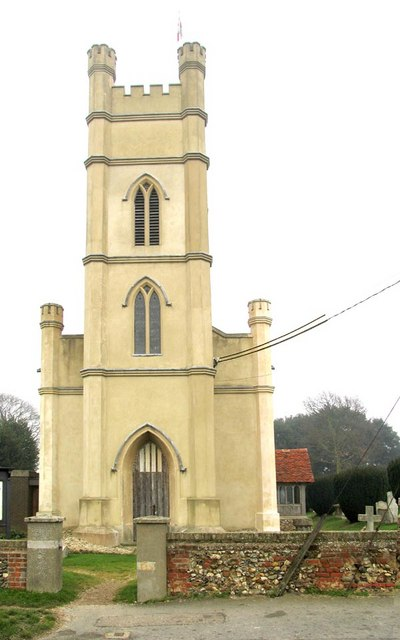 St Mary & All Saints, Rivenhall, Essex - Tower