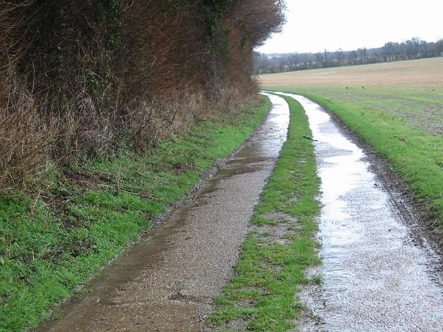Track near Ileden