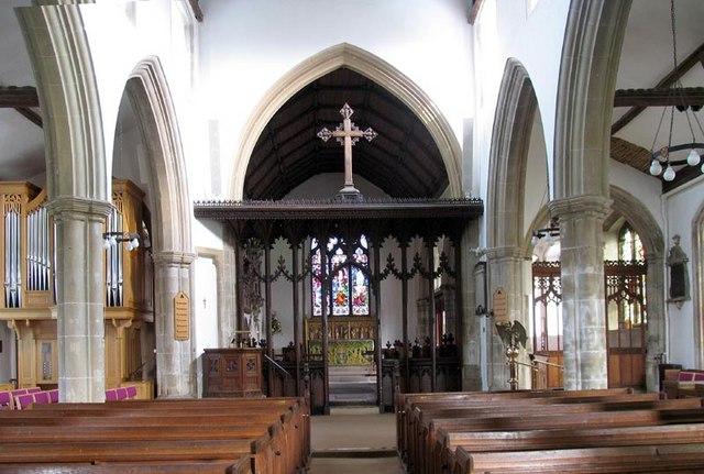 St Nicholas, Witham, Essex - East end