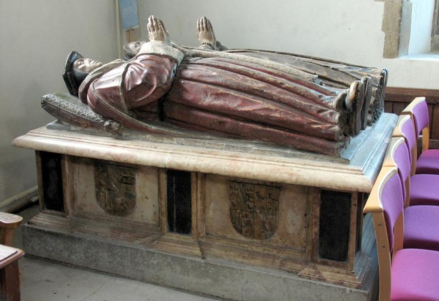 St Nicholas, Witham, Essex - Tomb chest