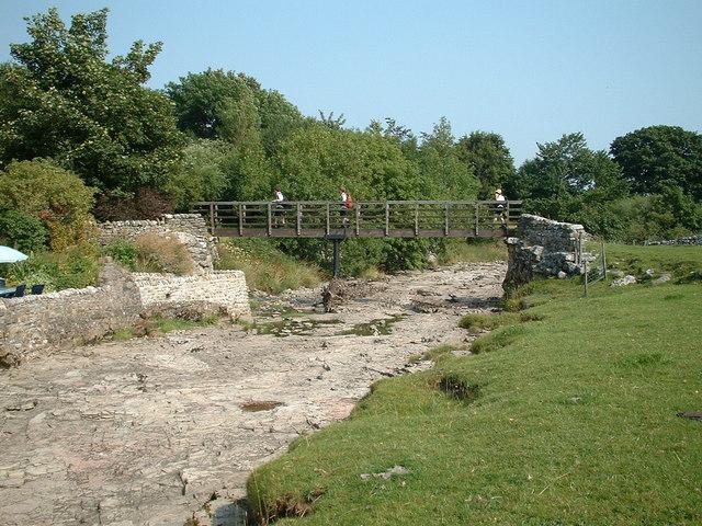 Bridge over the River Skirfare.