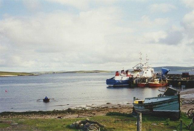 Ulsta ferry, Yell