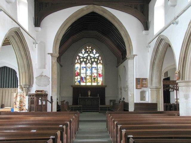 St Mary the Virgin, Kelvedon, Essex - East end