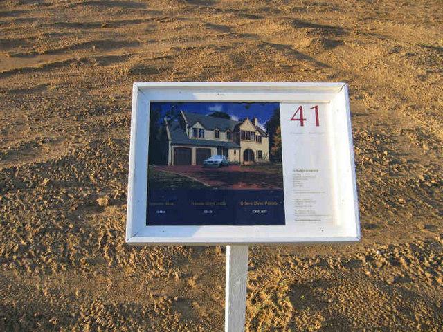 Archerfield Housing Development Sign