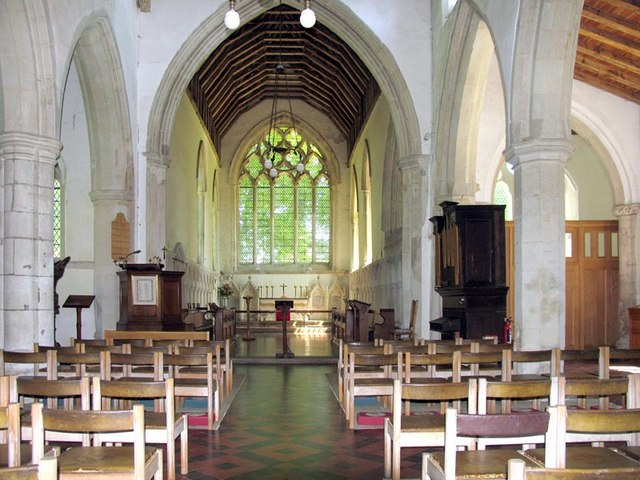 St Michael, Great Sampford, Essex - East end