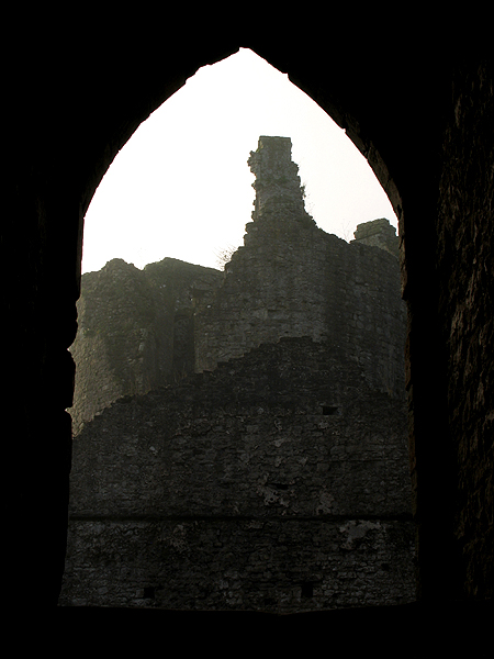Chepstow Castle Through The Arch