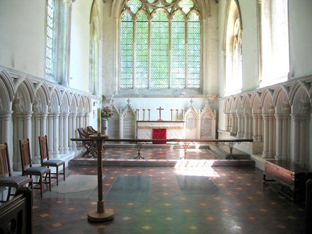St Michael, Great Sampford, Essex - Chancel
