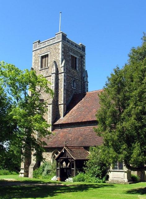 St Andrew, Hempstead, Essex - Tower