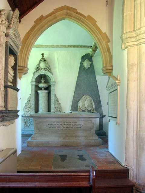 St Andrew, Hempstead, Essex - Monument