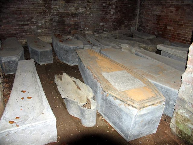 St Andrew, Hempstead, Essex - Crypt