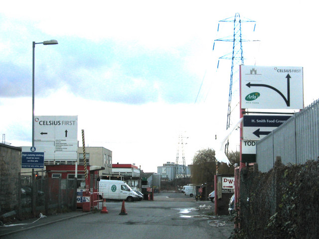 Clays Lane industrial estate