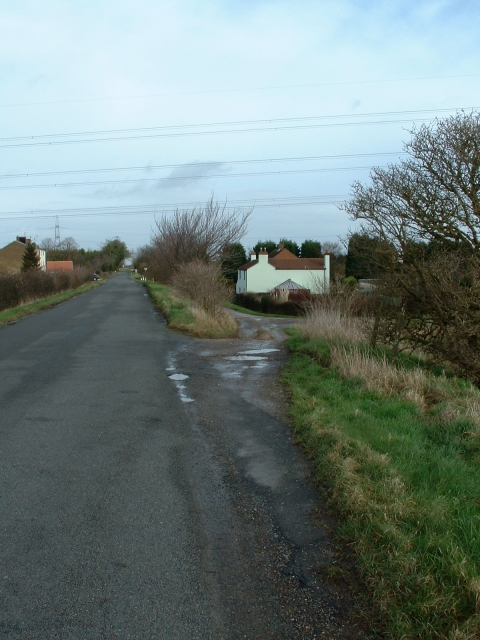 Cottages near Walpole Bank