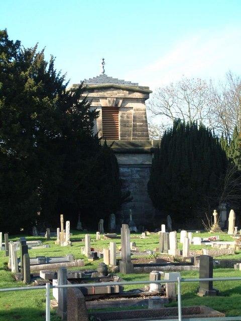 Mausoleum, Stone Road, Trentham