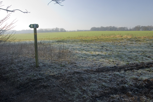 Footpath Marker Post