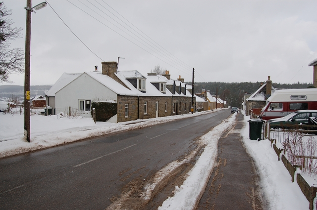 Leaving Tomintoul