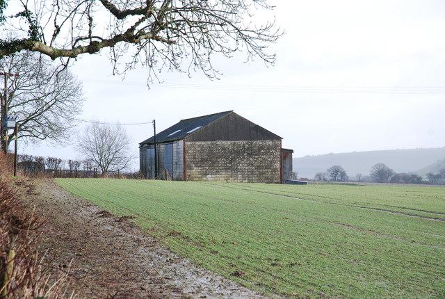 Stone barn by A30