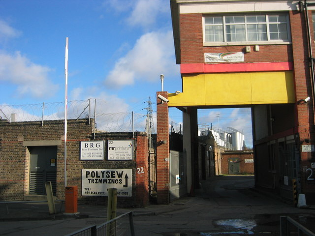 Marshgate Lane Industrial estate