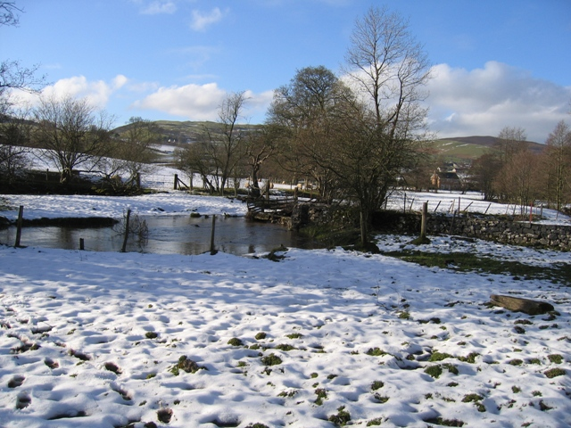 View Across the River Alyn