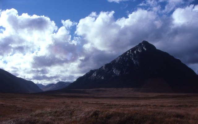 Buachaille Etive Mor from the Glencoe road