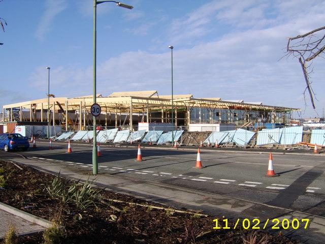 New Tesco Under Construction