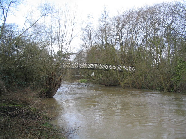 Footbridge over the Wreake, Melton Mowbray