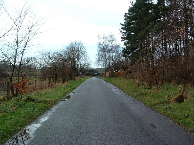 Wretham Road Into Croxton
